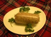 haggis on a plate
