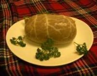 haggis on a plate
